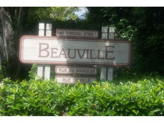 Naples Real Estate - BEAUVILLE Main Community Photo