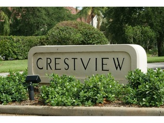 Naples Real Estate - CRESTVIEW AT CRESCENT LAKE Main Community Photo