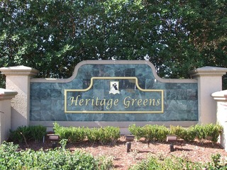 Naples Real Estate - HERITAGE GREENS Main Community Photo