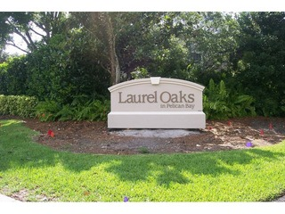 Naples Real Estate - LAUREL OAKS AT PELICAN BAY Main Community Photo