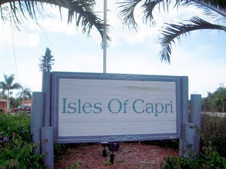 Naples Real Estate - ISLES OF CAPRI Main Community Photo