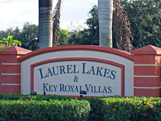 Naples Real Estate - LAUREL LAKES Main Community Photo