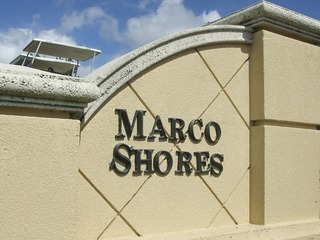 Naples Real Estate - MARCO SHORES Main Community Photo