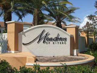 Naples Real Estate - MEADOWS OF ESTERO Main Community Photo