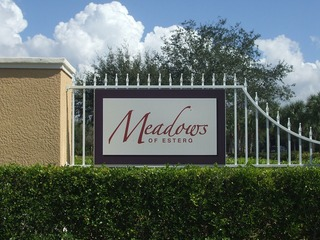 Naples Real Estate - Community MEADOWS OF ESTERO Photo 2