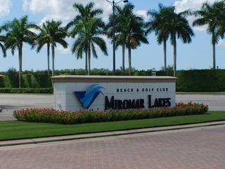Naples Real Estate - MIROMAR LAKES BEACH AND GOLF CLUB Main Community Photo