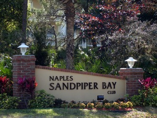 Naples Real Estate - NAPLES SANDPIPER BAY CLUB Main Community Photo