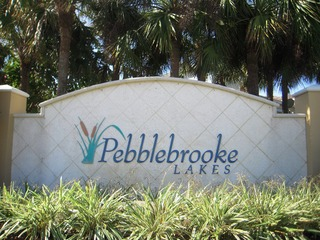 Naples Real Estate - PEBBLEBROOKE LAKES Main Community Photo