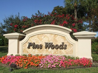 Naples Real Estate - PINEWOODS Main Community Photo