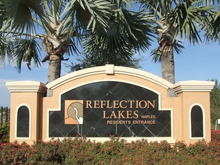 Naples Real Estate - REFLECTION LAKES Main Community Photo