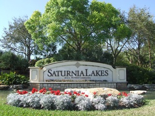 Naples Real Estate - SATURNIA LAKES Main Community Photo