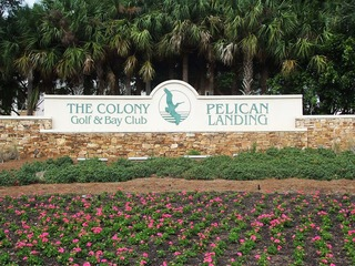 Naples Real Estate - THE COLONY AT PELICAN LANDING Main Community Photo