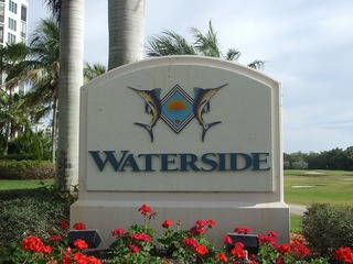 Naples Real Estate - WATERSIDE AT BAY BEACH Main Community Photo