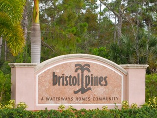 Naples Real Estate - BRISTOL PINES Main Community Photo