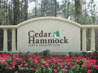 Naples Real Estate - CEDAR HAMMOCK Main Community Photo