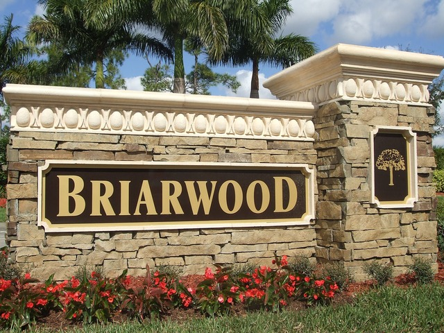 briarwood naples florida map